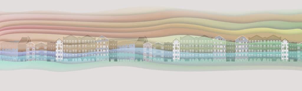 Innsbruck Mariahilf 2D Grafik