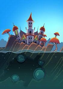 2D Grafik Schloss