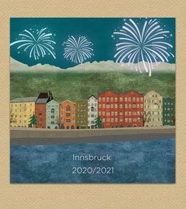 Innsbruck Mariahilf Neujahr