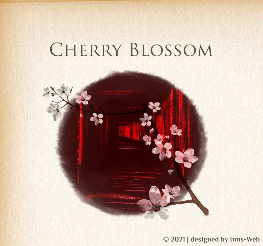 Kirschblüten - Aquarell Illustration