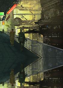 Cyberpunk-Cityscape